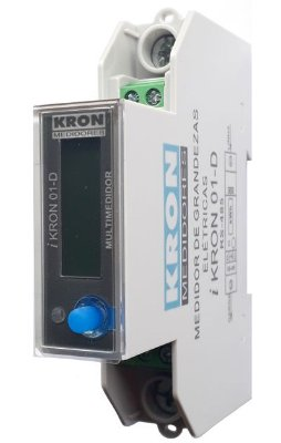 IKRON 01-D RS485 MULTIMEDIDOR 220V 10/100A Z351D21100000 KRON MEDIDORES