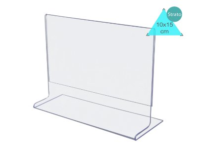 Display ou Porta Folha T A6 (10x15cm) Horizontal