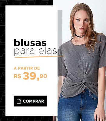 Mini Banner - Blusas Femininas