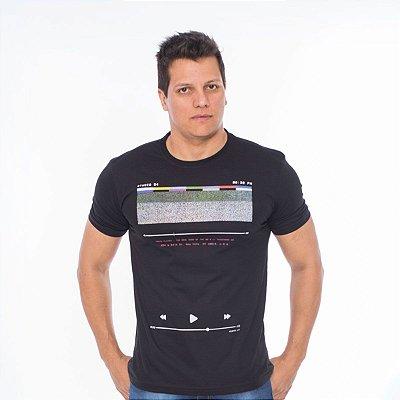 Camiseta Masculina Hiatto  Manga Curta