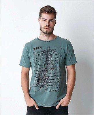Camiseta Masculina Hiatto Estonada Manga Curta