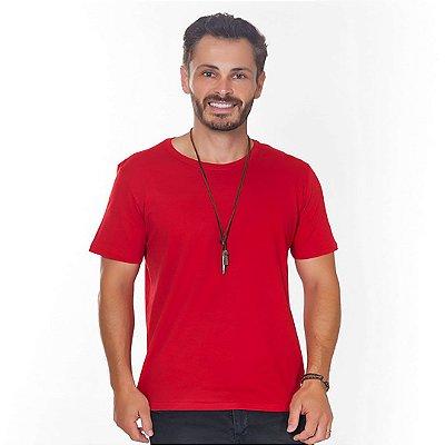 Camiseta Hiatto Basica Manga Curta Masculina Vermelha