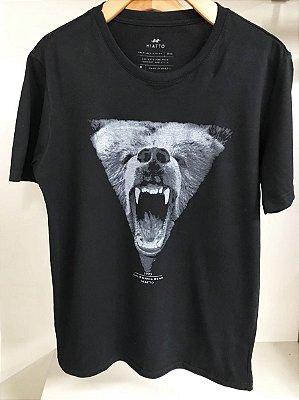Camiseta Hiatto Masculina Estampa Urso