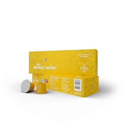 Café Mitsuo Nakao - Catuaí Amarelo em cápsulas compatíveis com Sistema Nespresso®