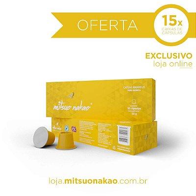 15 Caixas de Cápsulas de Café Mitsuo Nakao - Catuaí Amarelo