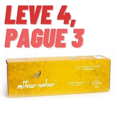 Cápsulas compatíveis com Sistema Nespresso - Catuai Amarelo - Leve 4, pague 3.
