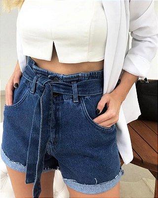 Shorts jeans Desejo - lavagem escura