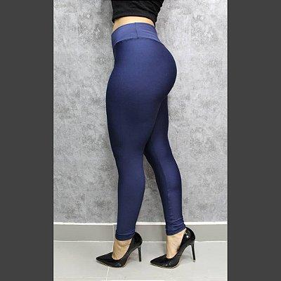 Legging em suplex Basic (não fica transparente) - Azul