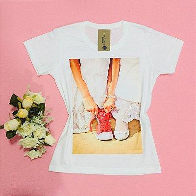 T-shirt estampada - Romantic