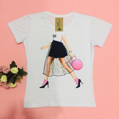 T-shirt estampada - Fashion Walking