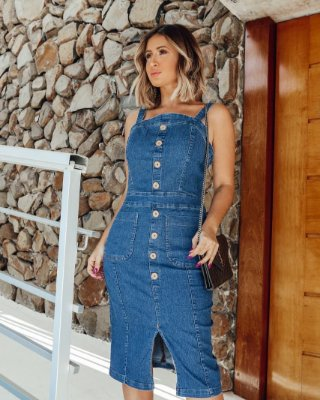 Vestido jeans Mikaeli