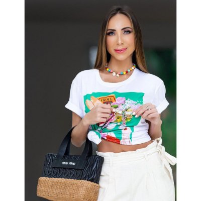 T-shirt estampada - Paris lifestyle