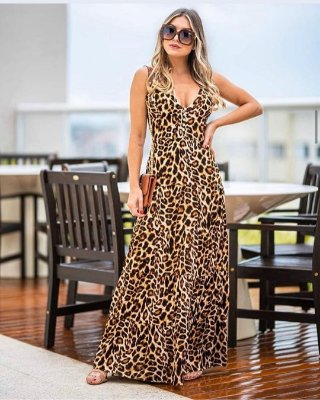 Long Dress Onça