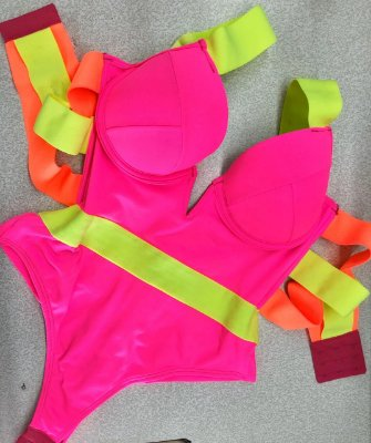 Body Neon Colors Pink