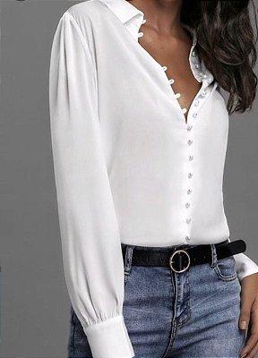 Camisa Branca Sabri
