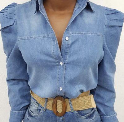 Camisa Jeans Princess