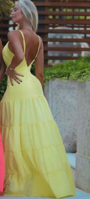 Long Dress MIami - Amarelo
