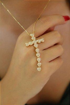 Cordão com crucifixo maravilhoso