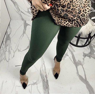 Legging em suplex Basic (não fica transparente) - Verde