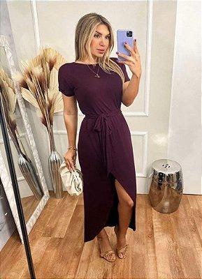 Vestido Viscolycra Mariah - Marsalla