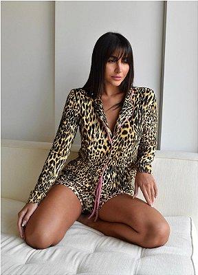 Pijama animal print dluxe
