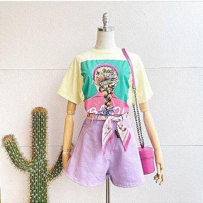 Tshirt Boo - Amarela Candy