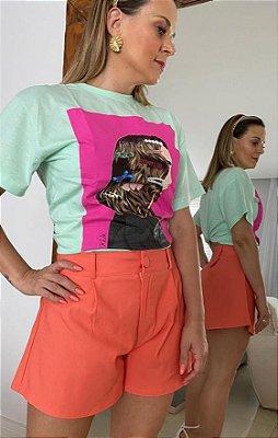 Tshirt Boo - Verde menta