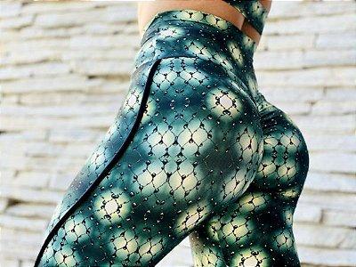 Calça legging fitness levanta bumbum lightner point