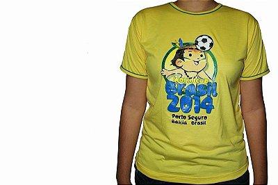 Camiseta Amarela Cainã na Copa 001