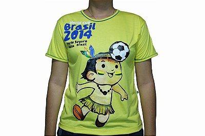 Camiseta Amarela Cainã na Copa 002