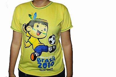 Camiseta Amarela Cainã na Copa 003