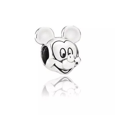 BERLOQUE DE PRATA MICKEY MOUSE