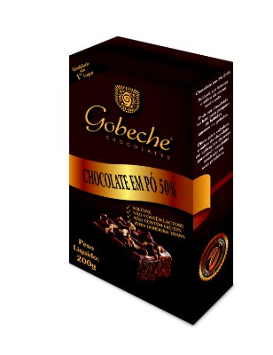 Chocolate em Pó Gobeche - 50% - embalagem 200g