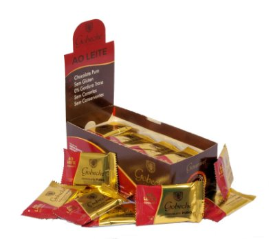 Chocolate Gourmet Ao Leite Gobeche- Display com 44 unid. 12g
