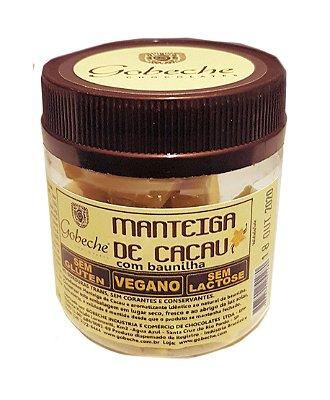 Manteiga de Cacau Natural com Baunilha Gobeche   - pote 60g