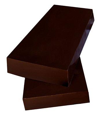 Chocolate 100% Gobeche - Vegano - Sem glúten - Barra 1,01kg