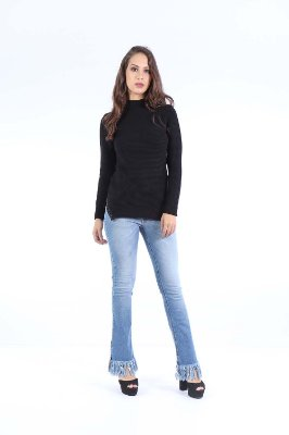 BLUSA TRICOT HAPPY HOUR TERMO - PRETO