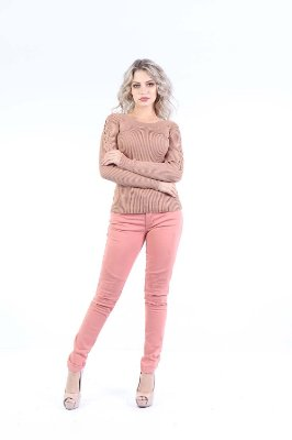 BLUSA HAPPY HOUR - BLUSH