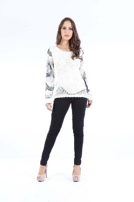 BLUSA TRICO CASUAL - SNAKE PLANT CAL