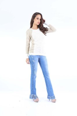 BLUSA CASUAL - BEGE