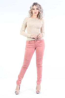 CALCA LOW JEGGING - BLUSH