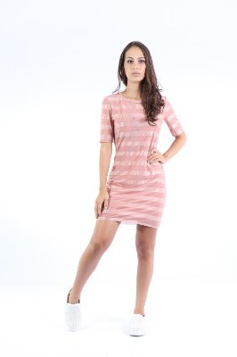 VESTIDO HAPPY HOUR TULE - BLUSH