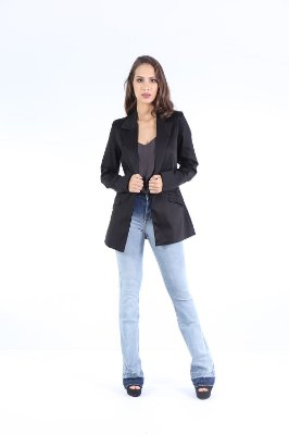 BLAZER HAPPY HOUR SPAN - PRETO