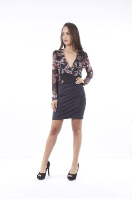 VESTIDO HAPPY HOUR TULE ESTAPADO - ORIENTAL YARD