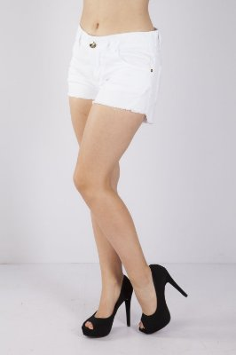 SHORTS COMFORT COLOR - BRANCO