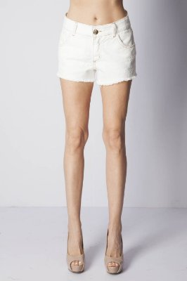 SHORT COMFORT SEM CINTO - OFF-WHITE
