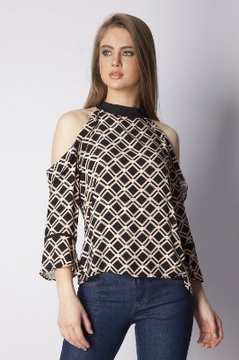 BLUSA HAPPY HOUR ESTAMPADA - THREE COLORS