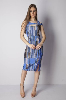 VESTIDO CASUAL RIBANA - STRIPES LINES