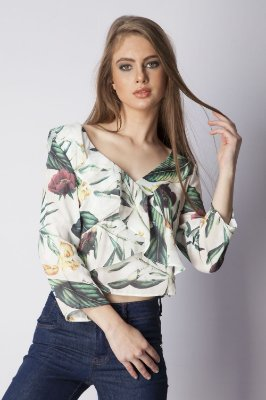 BLUSA HAPPY HOUR - WINTER TROPICAL
