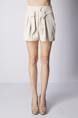SHORTS HAPPY HOUR ARGOLA - NUDE